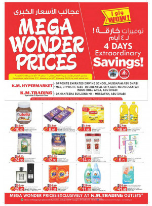 Mega Wonder Prices - Musaffah