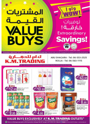 Value Buys - Abu Shagara & Rolla, Sharjah