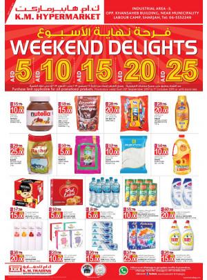 Weekend Delights - Industrial Area 3, Sharjah