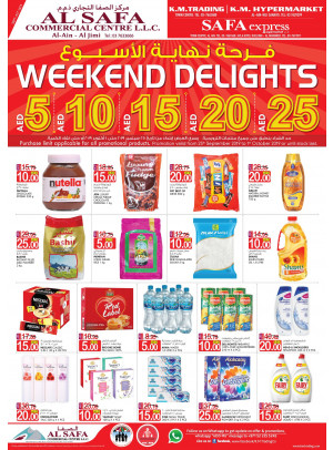 Weekend Delights - Al Ain