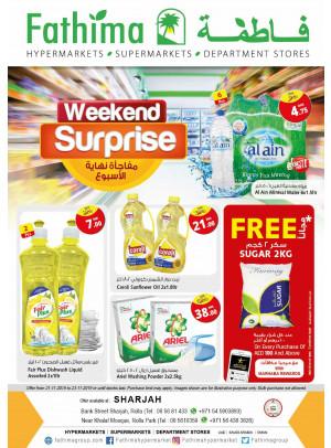 Weekend Surprise - Sharjah