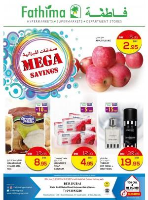 Mega Savings - Bur Dubai Branch
