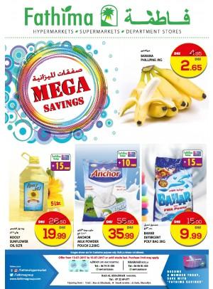 Mega Savings - Ajman, Sharjah and Ras Al Khaimah