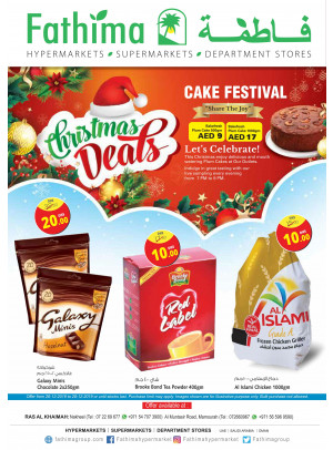 Christmas Deals - Ras Al Khaimah