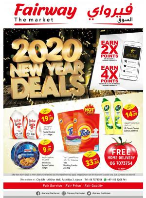 New Year Deals - Fairway The Market, Ajman