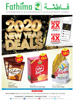 New Year Deals - Ras Al Khaimah