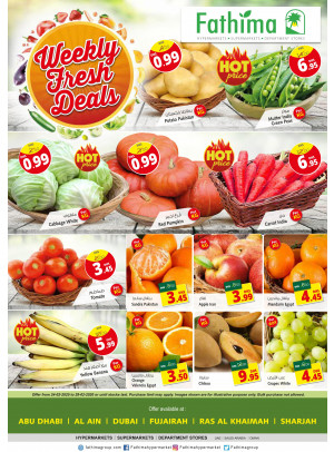 Weekly Fresh Deals