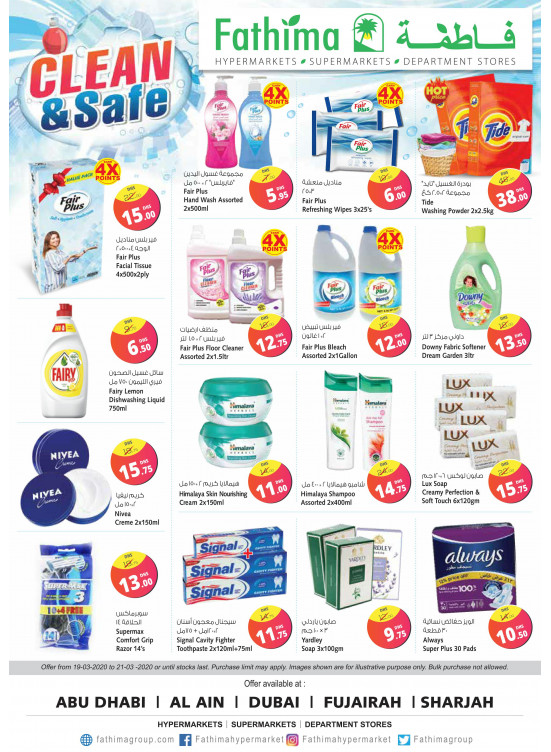 Clean & Safe Offers