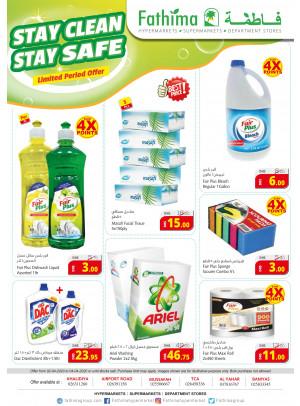 Stay Clean Stay Safe - Abu Dhabi & Al Yahar