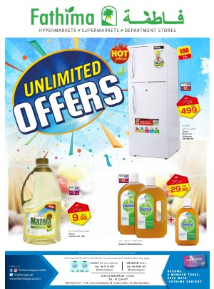 Unlimited Offers - Ajman, Sharjah and Rak Branches