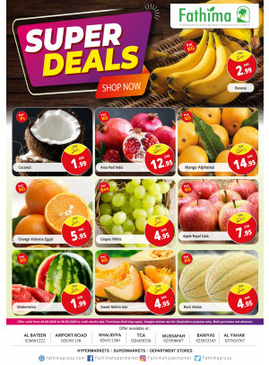 Super Deals - Abu Dhabi & Al Yahar
