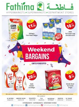 Weekend Bargains - Abu Dhabi & Al Yahar