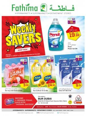 Weekly Savers - Bur Dubai Branch