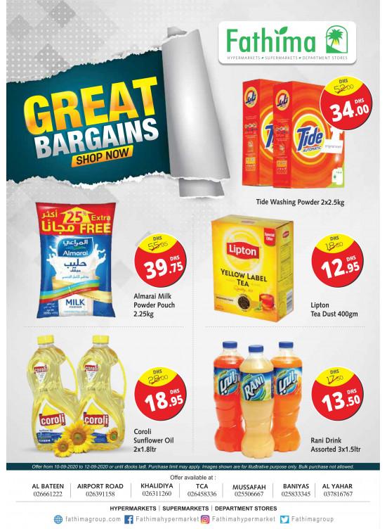 Great Bargains - Abu Dhabi & Al Yahar