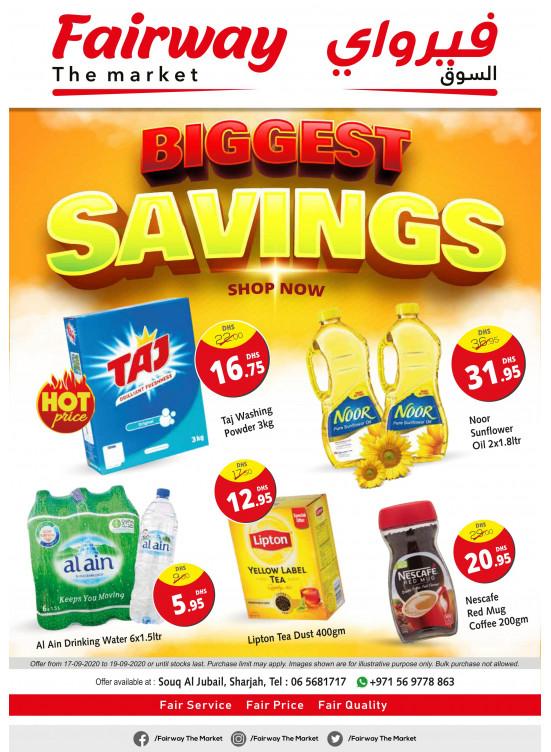 Biggest Savings - Souq Al Jubail, Sharjah