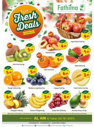 Fresh Deals - Al Yahar, Al Ain