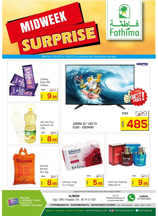 Midweek Surprise Deals