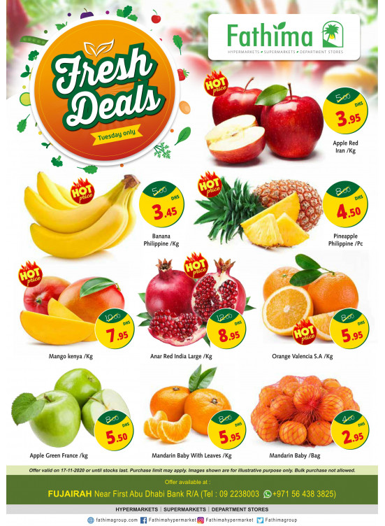 Fresh Deals - Fujairah