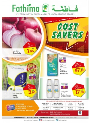 Cost Savers - Abu Dhabi and Al Ain- Al Yahar Branches