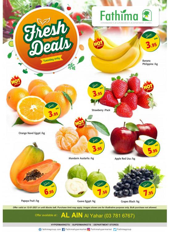 Fresh Deals - Al Yahar, Al Ain