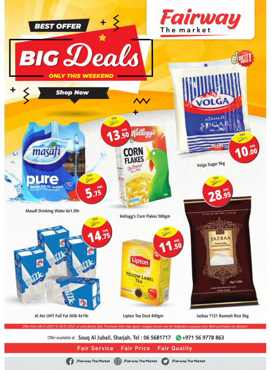 Big Deals - Fairway The Market, Souq Al Jubail