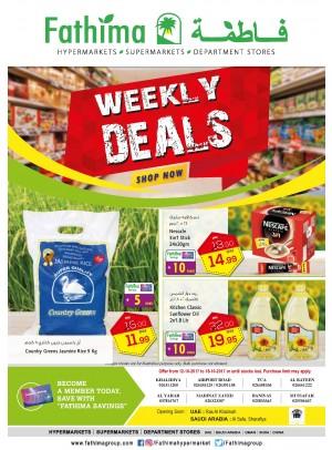 Weekly Deals - Abu Dhabi and Al Ain- Al Yahar Branches