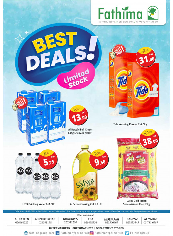 Best Deals - Abu Dhabi