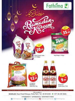 Ramadan 2021 Offers - Sharjah