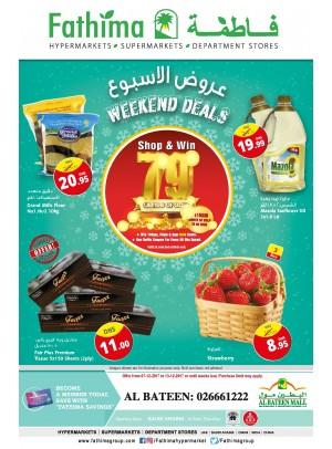 Weekend Deals - Al Bateen Branch