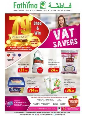 VAT Savers - Abu Dhabi and Al Ain- Al Yahar Branches