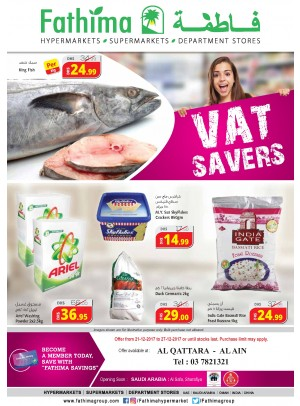 VAT Savers - Al Ain- Al Qattara Branch