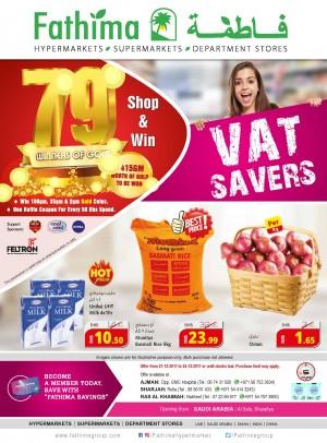 VAT Savers - Ajman, Sharjah and Rak Branches