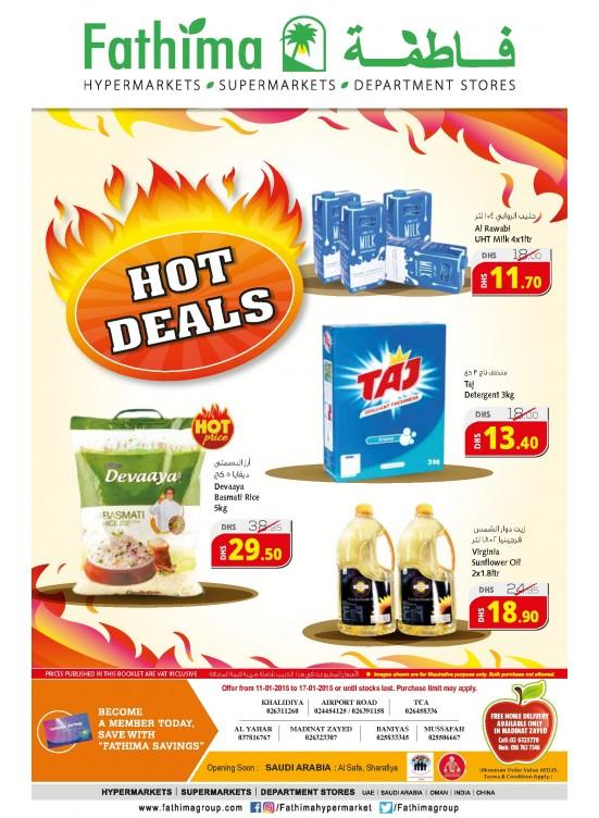Hot Deals - Abu Dhabi and Al Ain- Al Yahar Branches