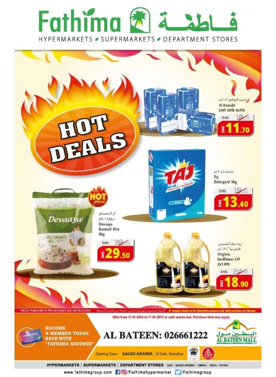Hot Deals - Al Bateen Branch