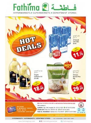 Hot Deals - Ajman, Sharjah and Rak Branches