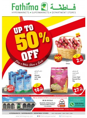 Weekend Offers - Up to 50% Off - Bur Dubai Branch