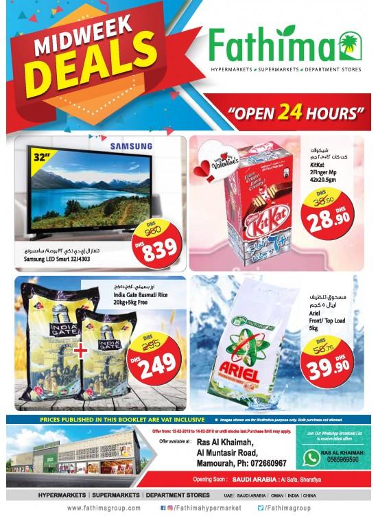 Wonderful Midweek Deals - Ras Al Khaimah Branch