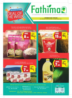 Deal of the week - Ajman, Sharjah and Ras Al Khaimah