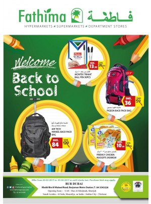 Back to School - Bur Dubai Branch