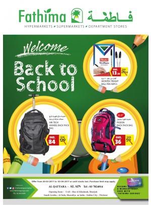 Back to school - Al Ain, Al Qattara