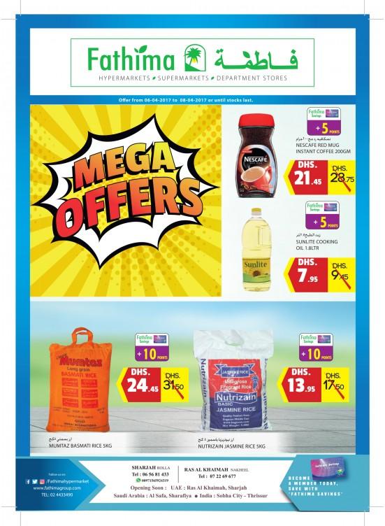 Mega Offers - Sharjah & Ras Al Khaimah