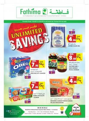 Unlimited Savings - Bur Dubai