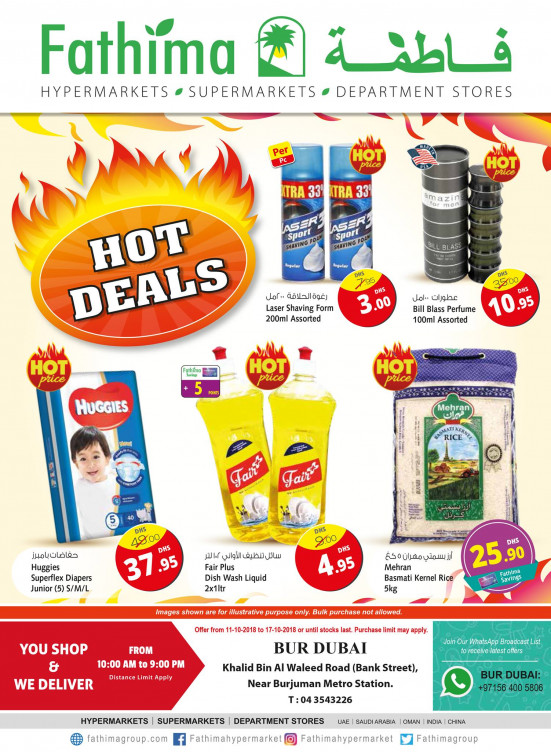 Hot Deals - Bur Dubai
