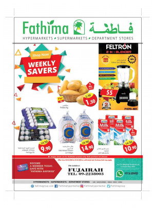 Weekly Savers - Fujairah