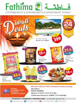 Diwali Deals - Ras Al Khaimah Branches