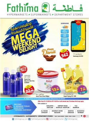 Mega Weekend Delight - Abu Dhabi and Al Yahar Branches