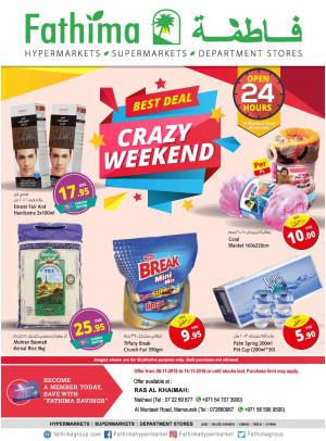 Crazy Weekend Deals - Ras Al Khaimah Branches