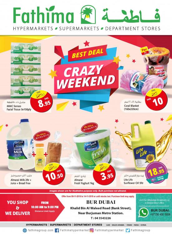 Crazy Weekend Deals - Bur Dubai