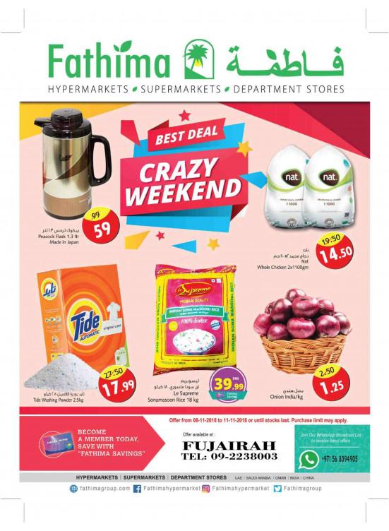 Crazy Weekend Deals - Fujairah