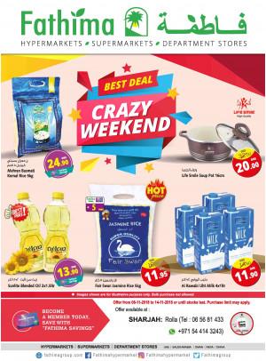 Crazy Weekend Deals - Sharjah